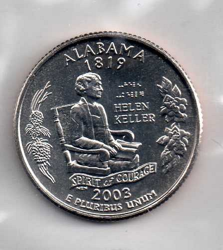 2003 P BU Alabama Washington Quarter #3