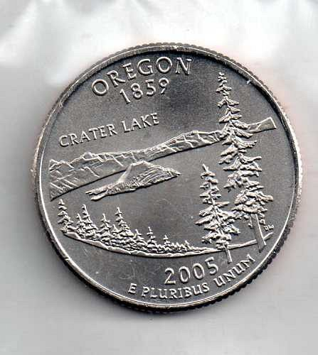 2005 P Oregon Washington Quarter #3