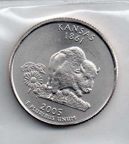 2005 P BU Kansas Washington Quarter #3