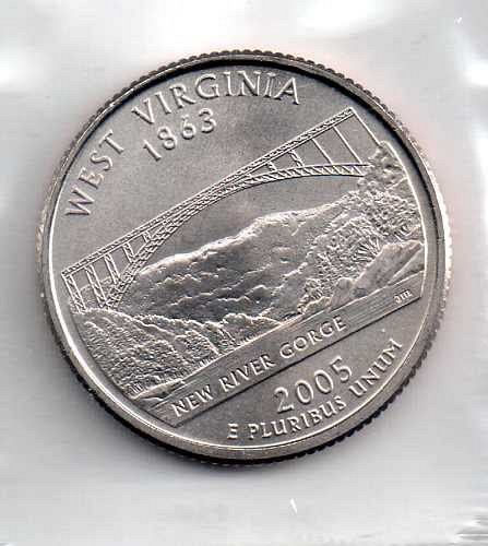 2005 P BU West Virginia Washington Quarter #3