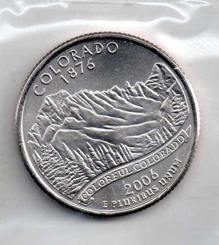 2006 P BU Colorado Washington Quarters #3