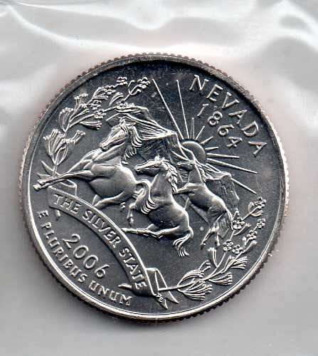 2006 P BU Nevada Washington Quarter #3