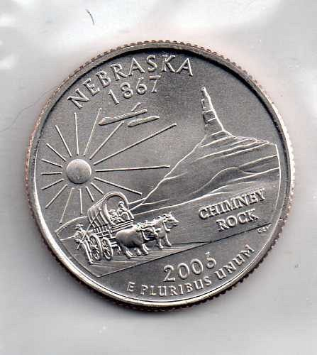 2006 P BU Nebraska Washington Quarter #3