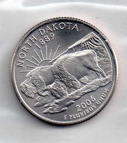 2006 P BU North Dakota Washington Quarter #3
