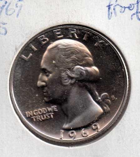 1969 S Proof Washington Quarter #3