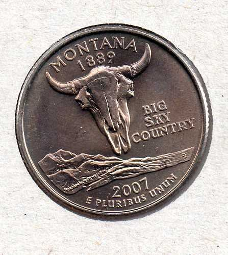 2007 P BU Montana Washington Quarter #3