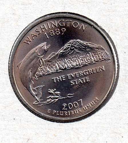 2007 P BU Washington Washington Quarter #3