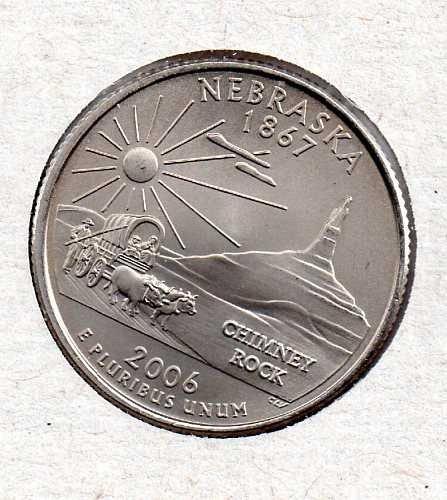 2006 P BU Nebraska Washington Quarter #4