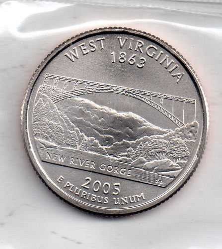 2005 P BU West Virginia Washington Quarter #4