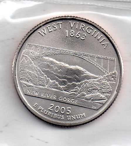 2005 P BU West Virginia Washington Quarter #4
