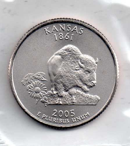 2005 P BU Kansas Washington Quarter #4