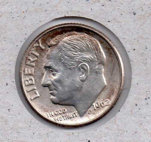 1962 D Roosevelt Dime #3
