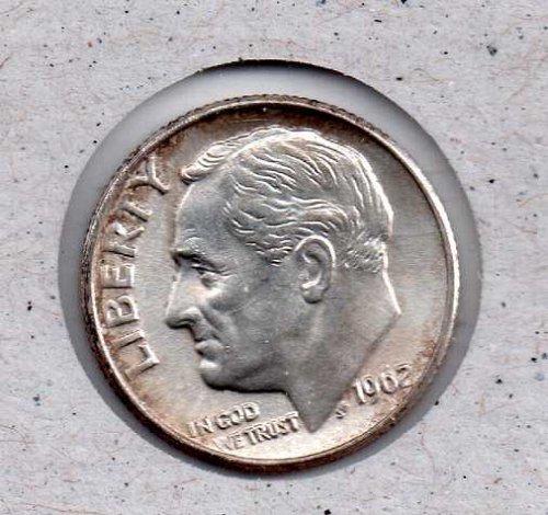 1962 P Roosevelt Dime #3