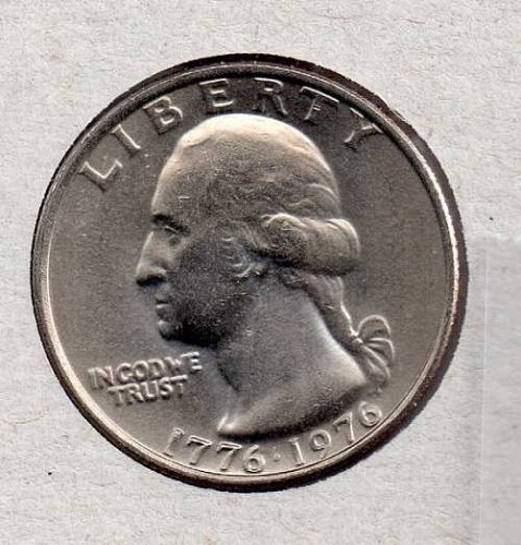 1976 P BU Washington Quarter #3