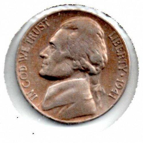 1941 d Jefferson Nickel #3