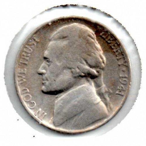 1941 s Jefferson Nickel #3