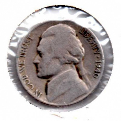 1940 d Jefferson Nickel #3