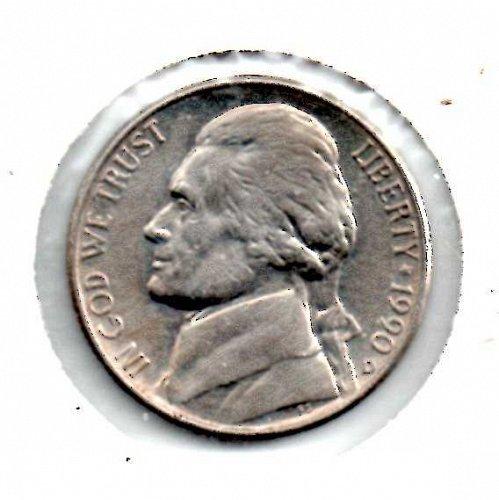 1990d Jefferson Nickel #3