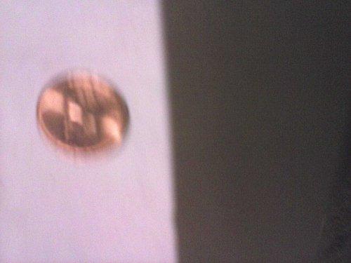 1956 p wheat penny (unc)