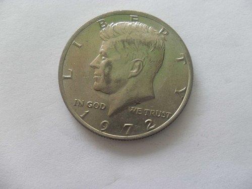 1972 50 c Kennedy Half Dollar