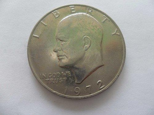 1972 $1 Ike Dollar - Eisenhower