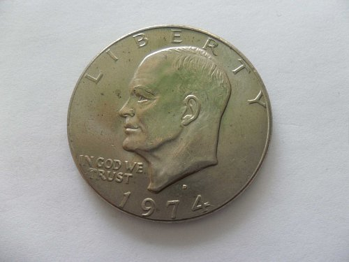 1974-D  Eisenhower United States Dollar