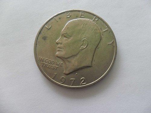1972-D $1 Ike Dollar - Eisenhower