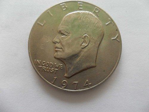 1974 $1 Ike Dollar - Eisenhower