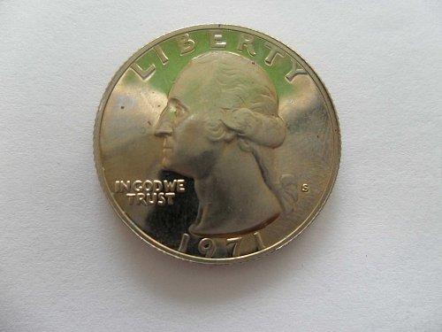 1971-S 25c Washington Quarter