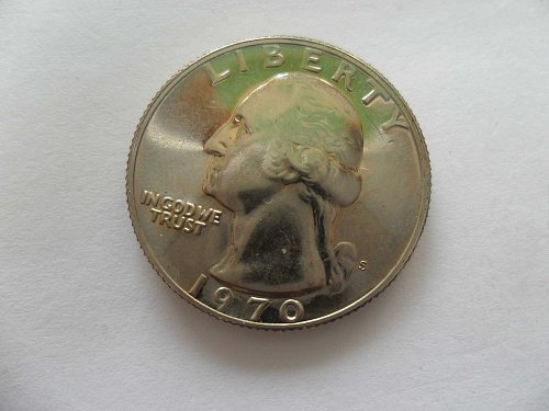 1970-S 25c Washington Quarter