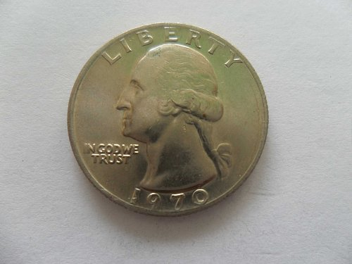 1970 25c Washington Quarter