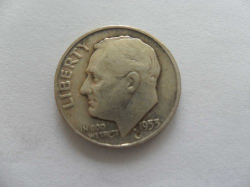 1953 10C  Roosevelt Dime