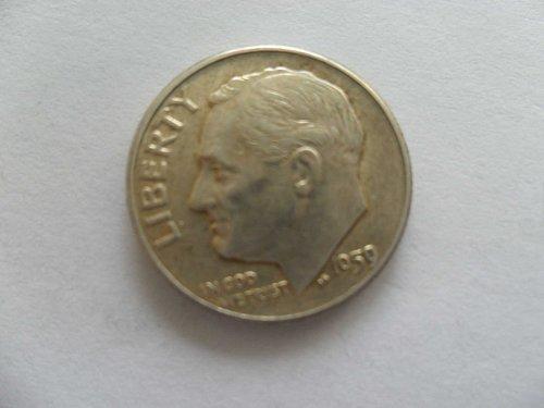 1959-D 10C  Roosevelt Dime