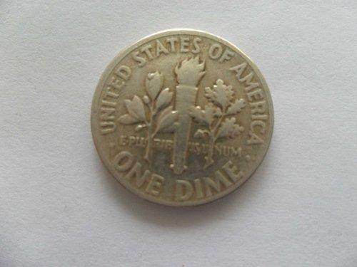1956 10C  Roosevelt Dime