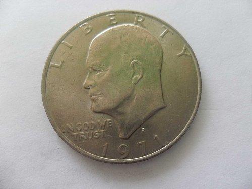 1971-D  $1 Ike Dollar - Eisenhower