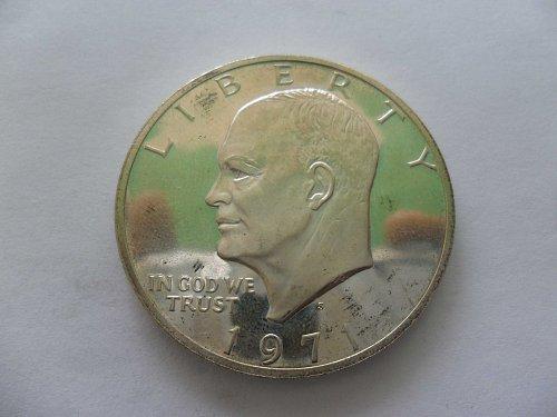 1971-S Eisenhower  Dollar