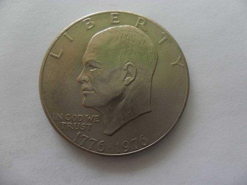 1976 $1 Ike Dollar - Eisenhower
