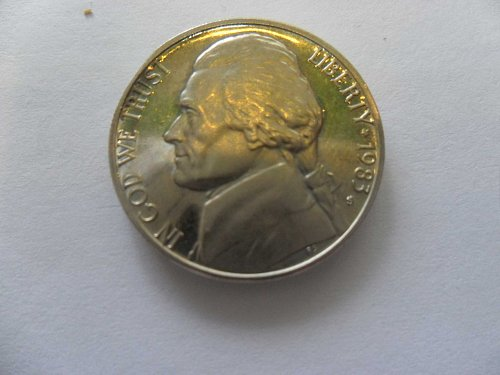 1983-S 5c Jefferson Nickel
