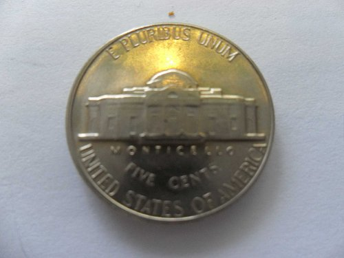1969-D 5c Jefferson Nickel