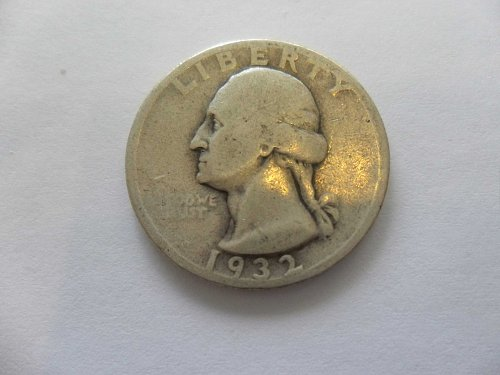 1932  Washington Quarter