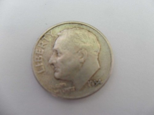 1954 10C  Roosevelt Dime