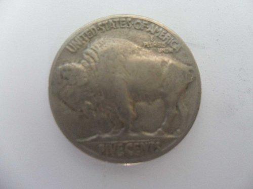 1936 5C Buffalo Nickel, five cents