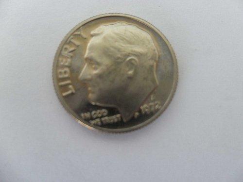 1972-S 10C  Roosevelt Dime