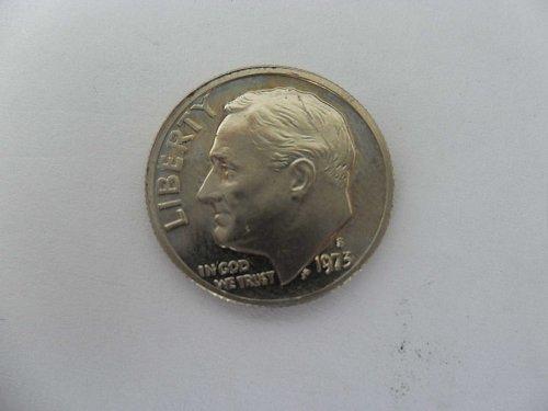 1973-S 10C  Roosevelt Dime