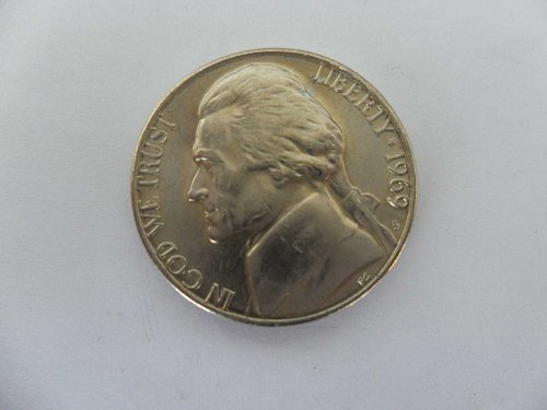 1969-S 5c Jefferson Nickel