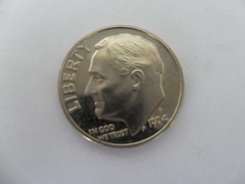 1974-S 10C  Roosevelt Dime