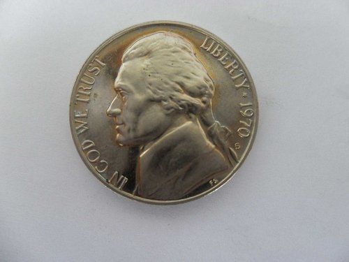 1970-S Jefferson Nickel