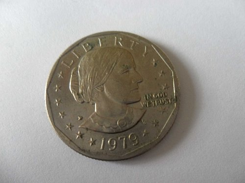 1979-P Susan B Anthony Dollar