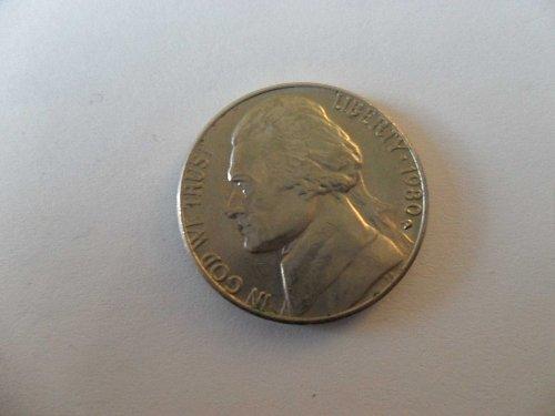 1980-D   Jefferson Nickel