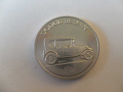 1968-P DODGE SEDAN 1916 ,COIN SERIES 1- ANTIQUE CAR SUNOCO